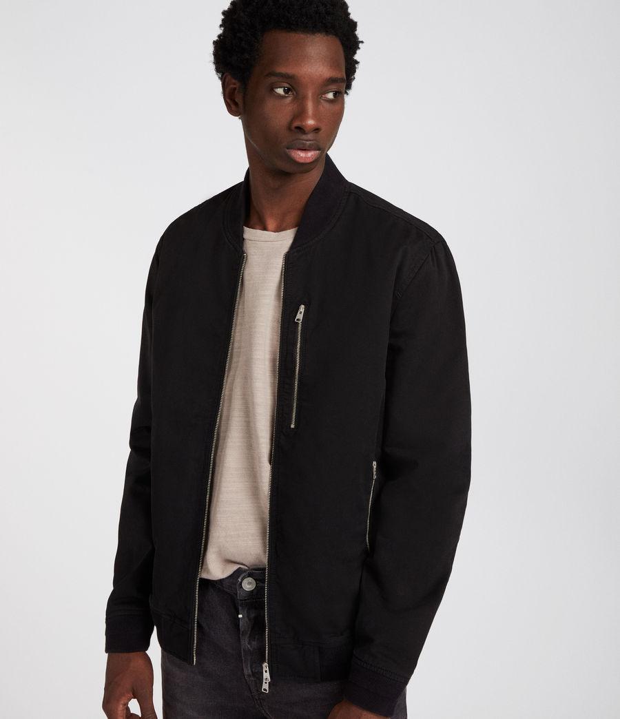 Uomo Gonze Bomber Jacket (black) - Image 3