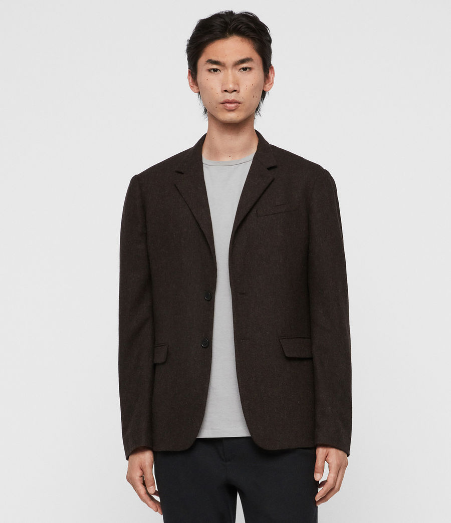 Men's Arbatus Blazer (brown) - Image 1