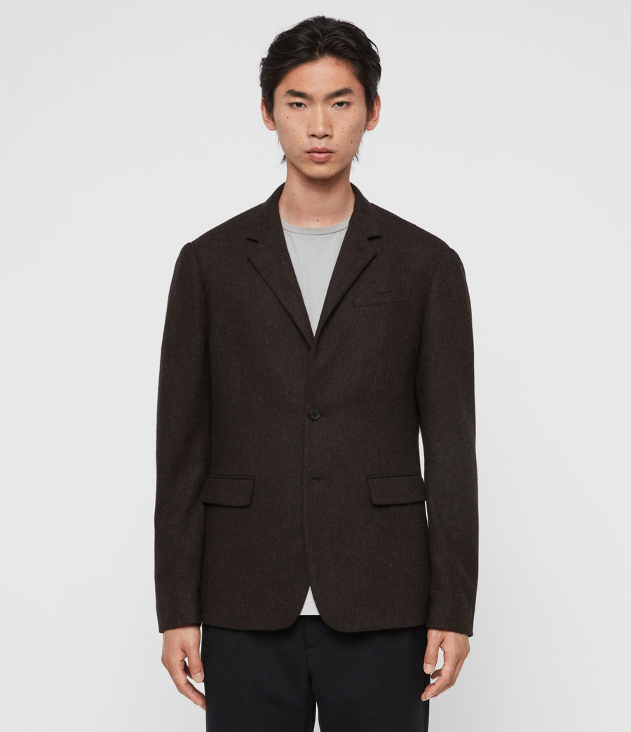 Men's Arbatus Blazer (brown) - Image 2