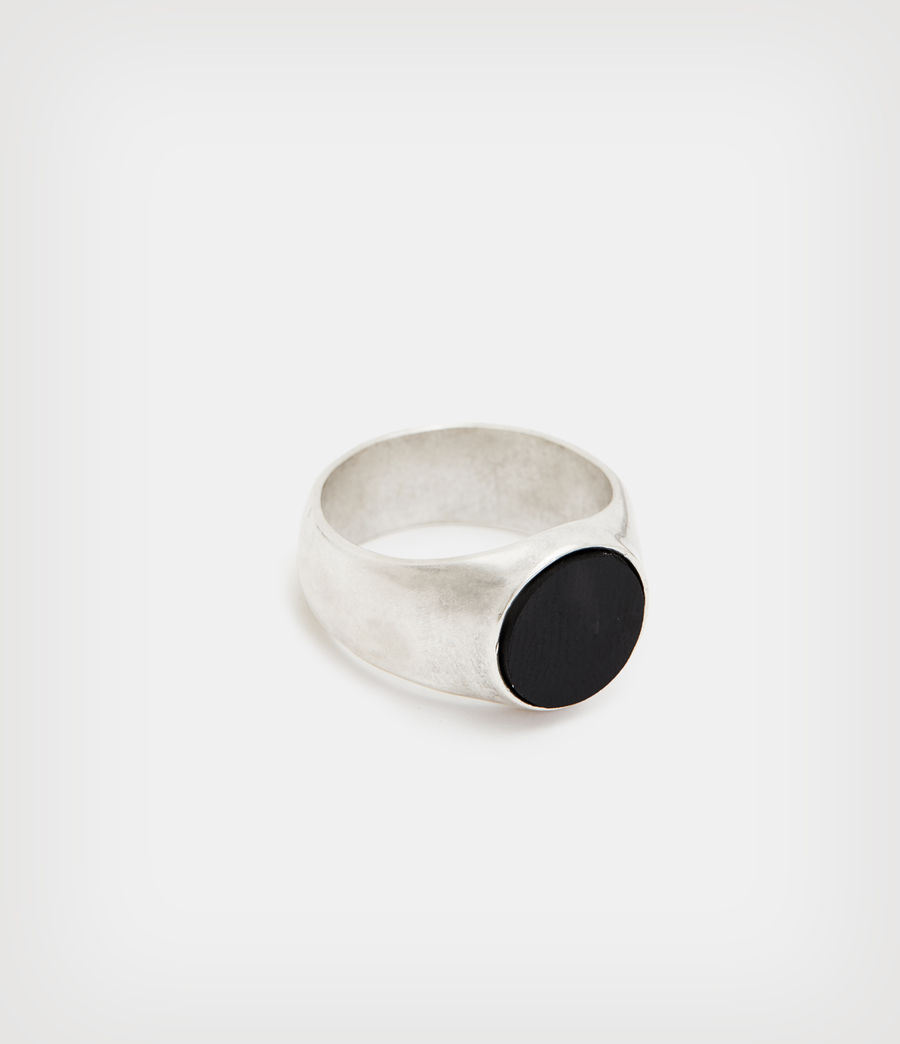 Men's Ryker Sterling Silver Ring (warm_silver) - Image 1