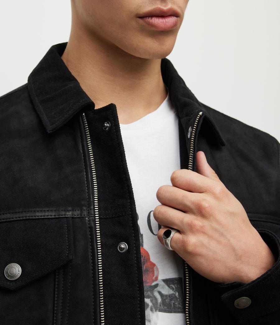 Men's Ryker Sterling Silver Ring (warm_silver) - Image 2