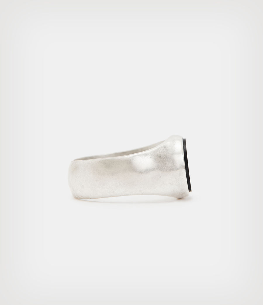 Men's Ryker Sterling Silver Ring (warm_silver) - Image 3