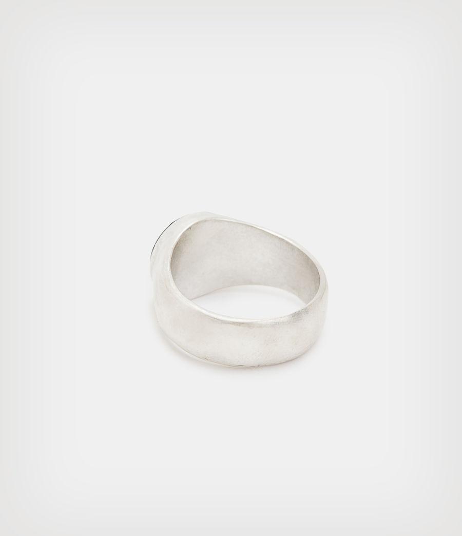 Men's Ryker Sterling Silver Ring (warm_silver) - Image 4