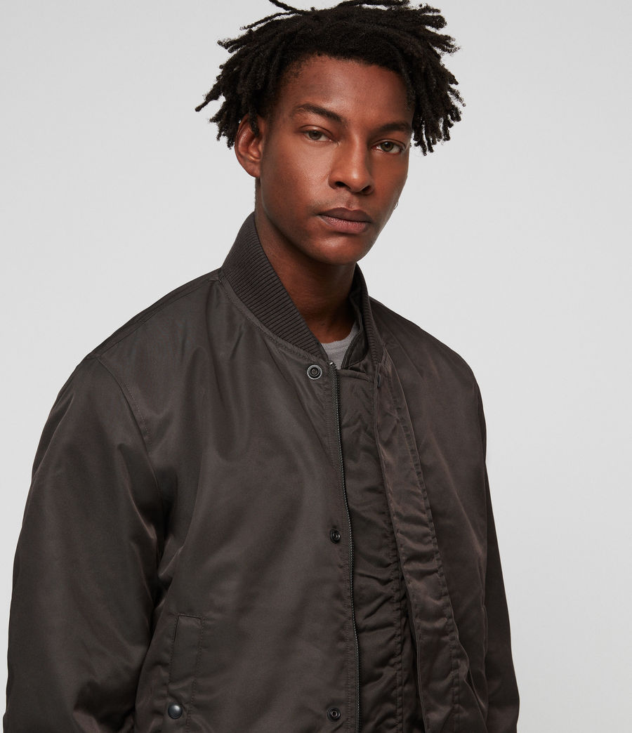 Men's Emmis Bomber Jacket (graphite_grey) - Image 5