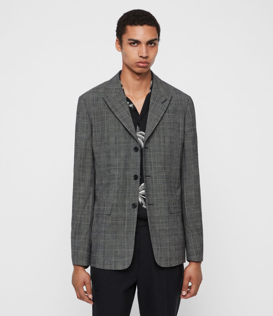 Men's Bulmer Blazer (grey) - Image 1