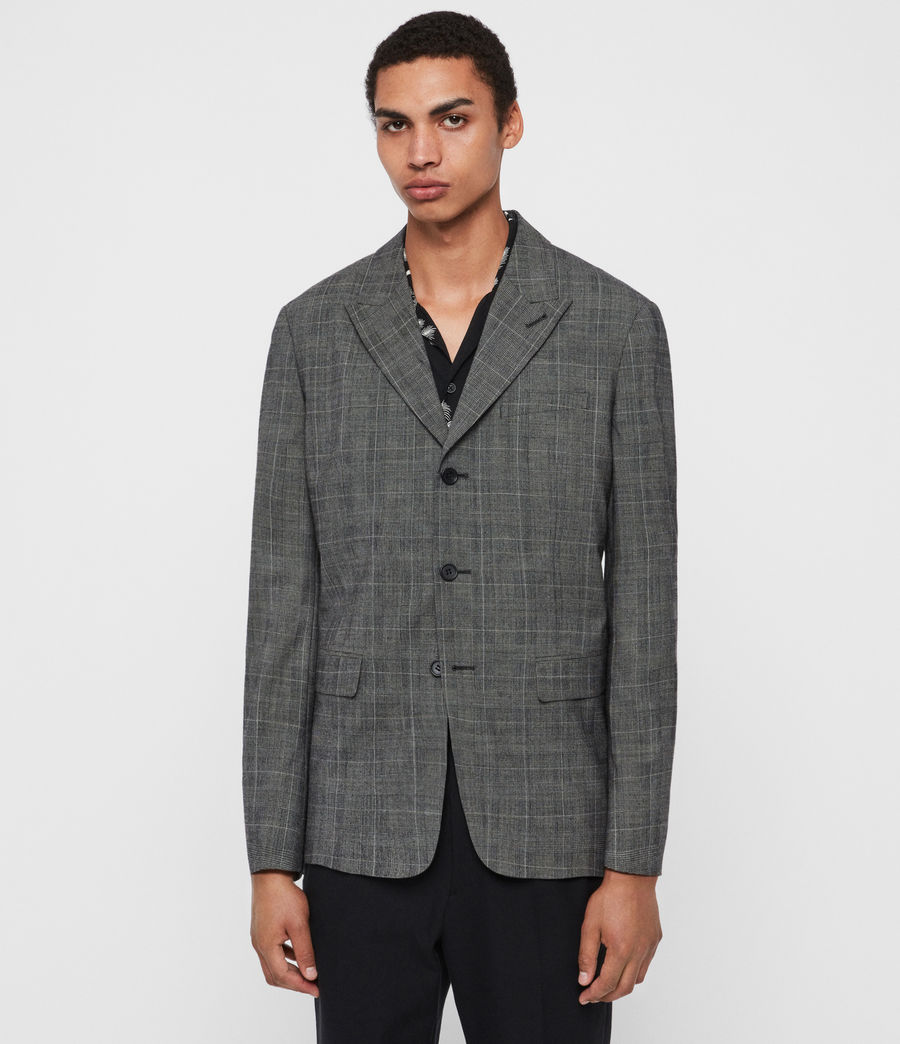 Men's Bulmer Blazer (grey) - Image 4