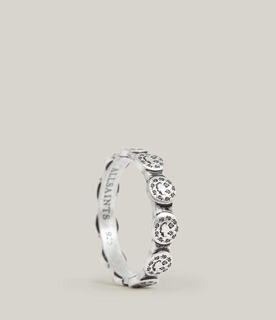 Men's Elias Sterling Silver Ring (warm_silver) - Image 1
