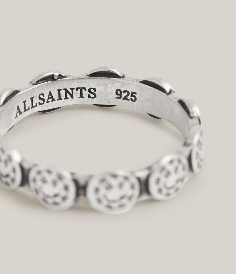 Men's Elias Sterling Silver Ring (warm_silver) - Image 3
