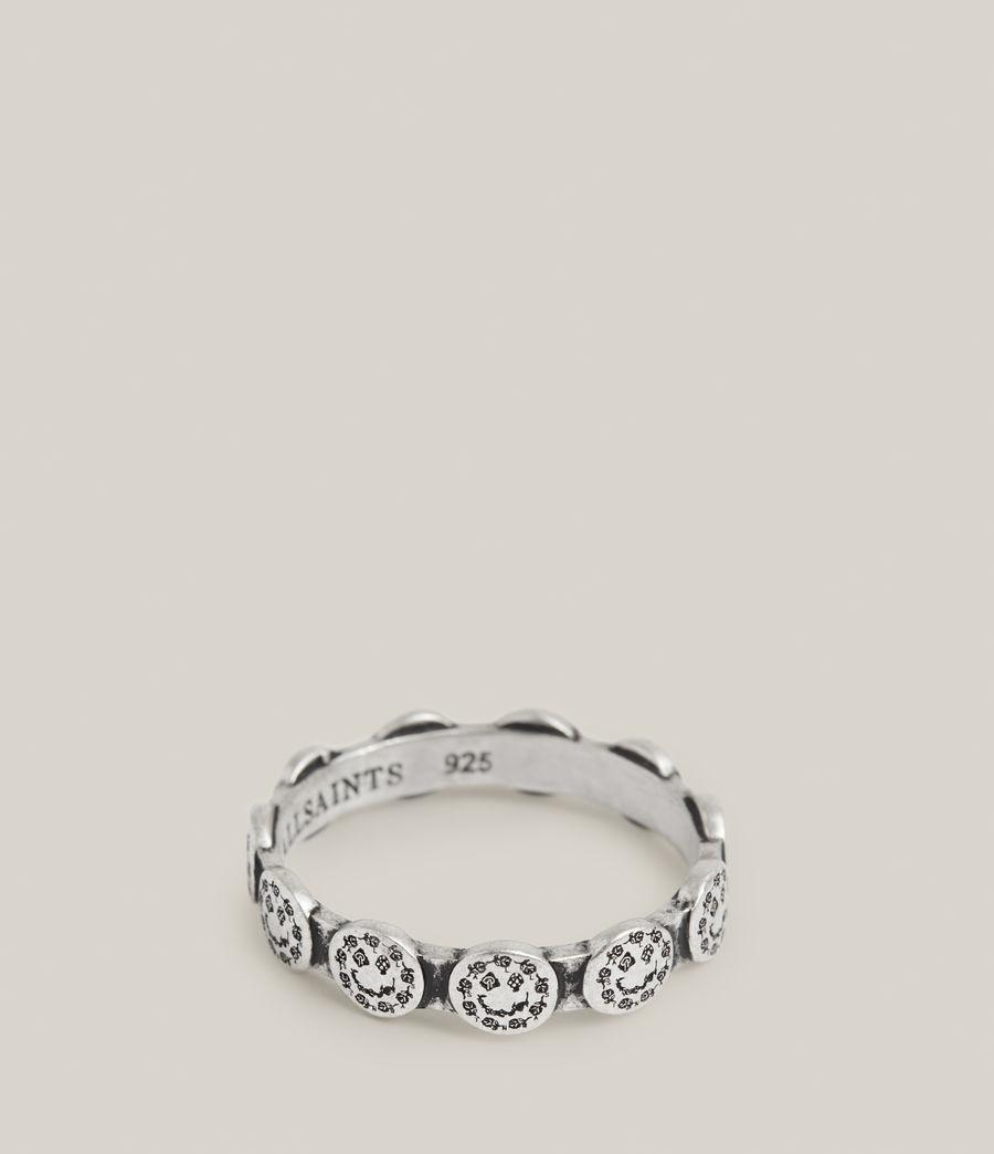 Men's Elias Sterling Silver Ring (warm_silver) - Image 4