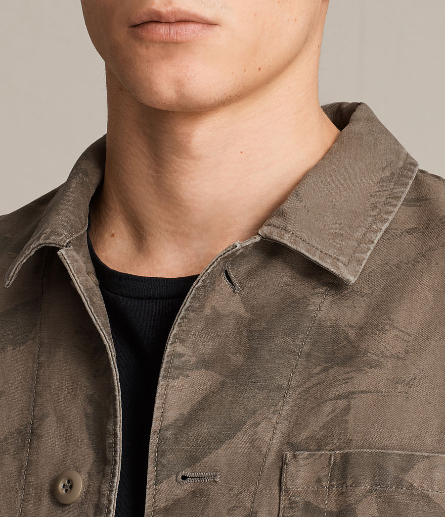 Men's Yasuko Jacket (khaki_brown) - Image 2