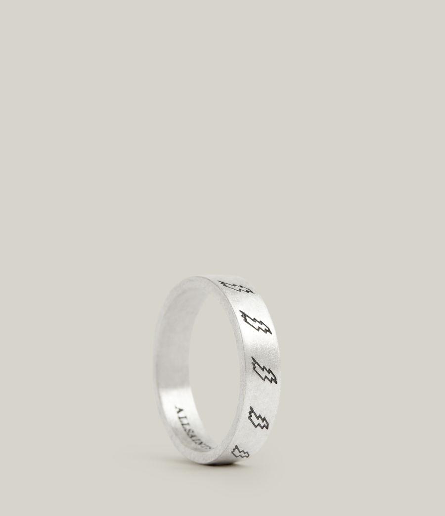 Men's Tobias Sterling Silver Ring (warm_silver) - Image 1