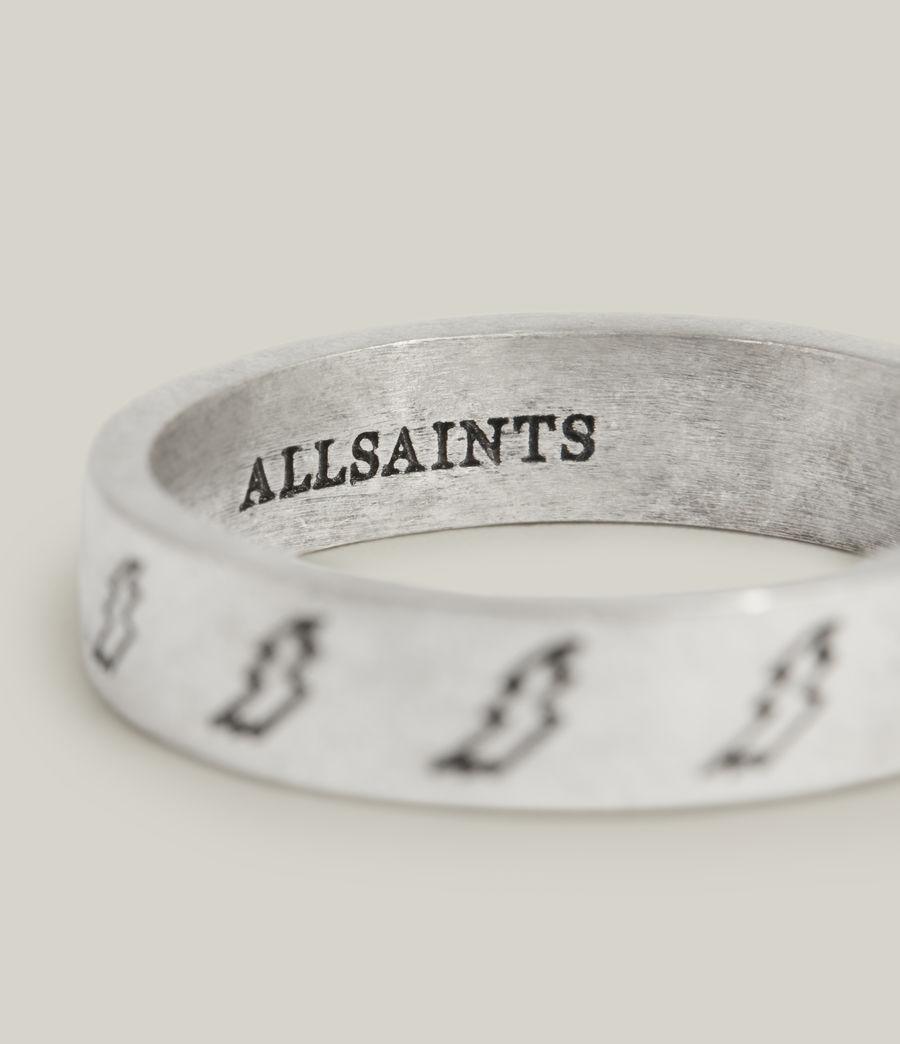 Men's Tobias Sterling Silver Ring (warm_silver) - Image 3