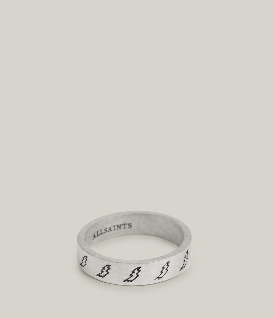 Men's Tobias Sterling Silver Ring (warm_silver) - Image 4