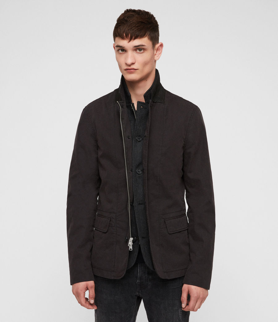 Men's Eston Blazer (black) - Image 1
