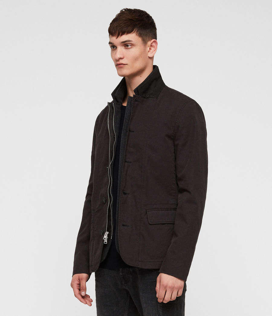 Men's Eston Blazer (black) - Image 4