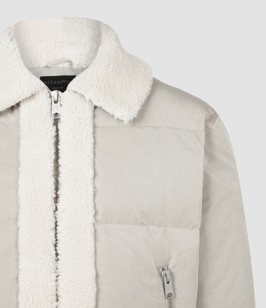 Men's Gowers Sherpa-Lined Puffer Jacket (lyme_taupe) - Image 5