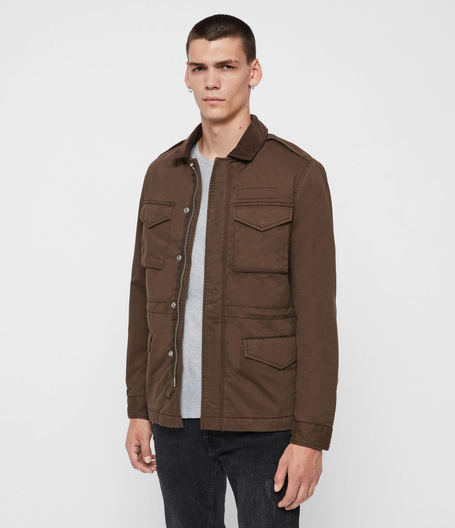 Mens Temple Jacket (umber) - Image 3