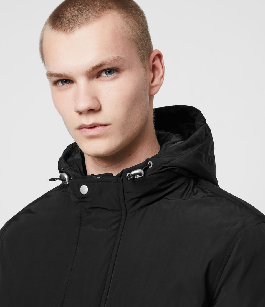 Mens Gravis Bomber Jacket (black) - Image 6