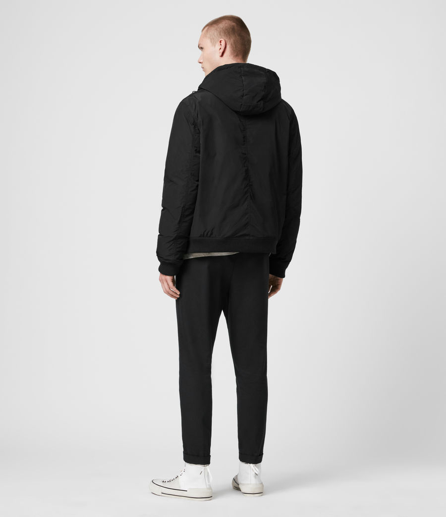 Mens Gravis Bomber Jacket (black) - Image 7
