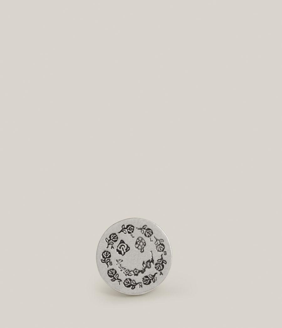 Men's Perun Sterling Silver Pin (warm_silver) - Image 2