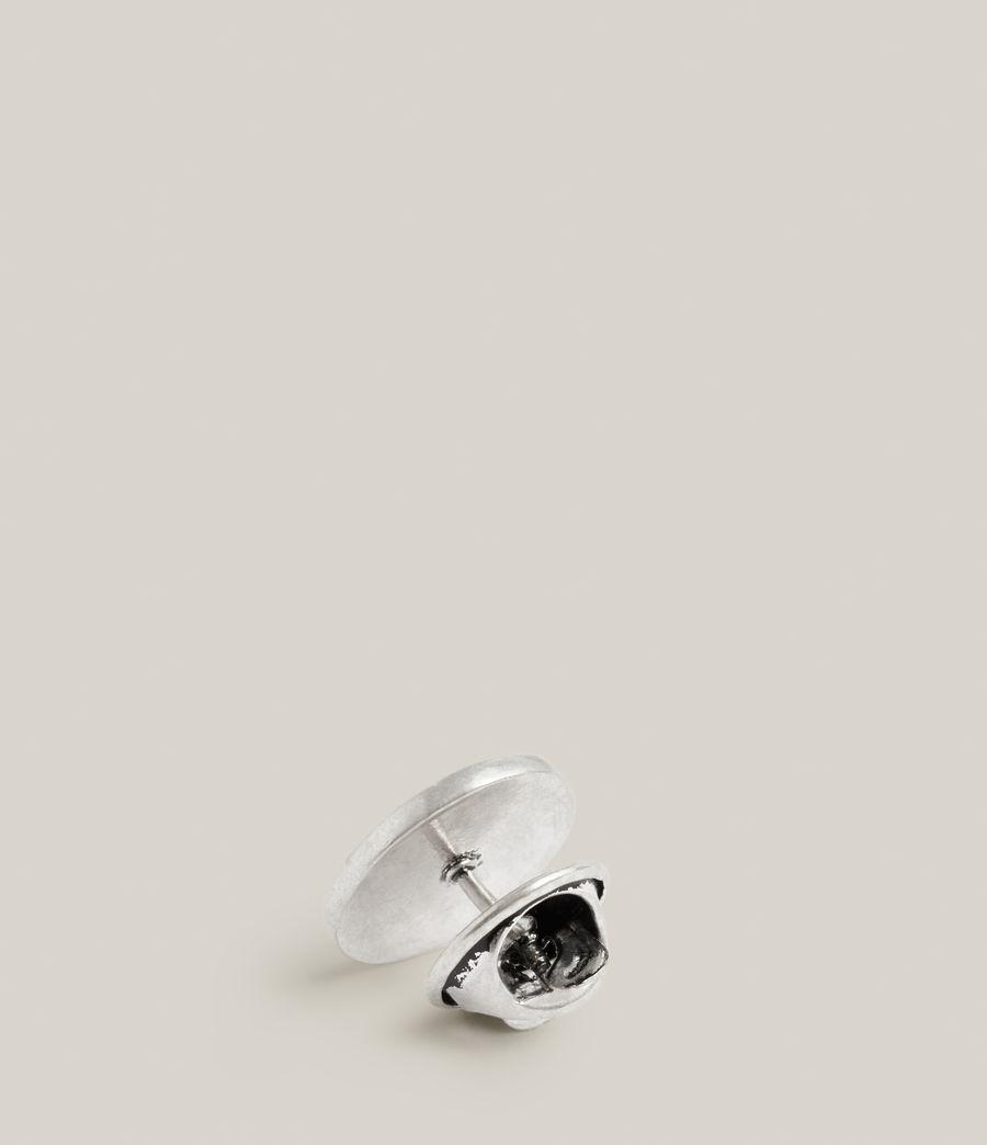 Men's Perun Sterling Silver Pin (warm_silver) - Image 3