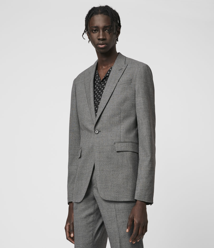 Hombres Arlow Wool Blazer (light_grey) - Image 4