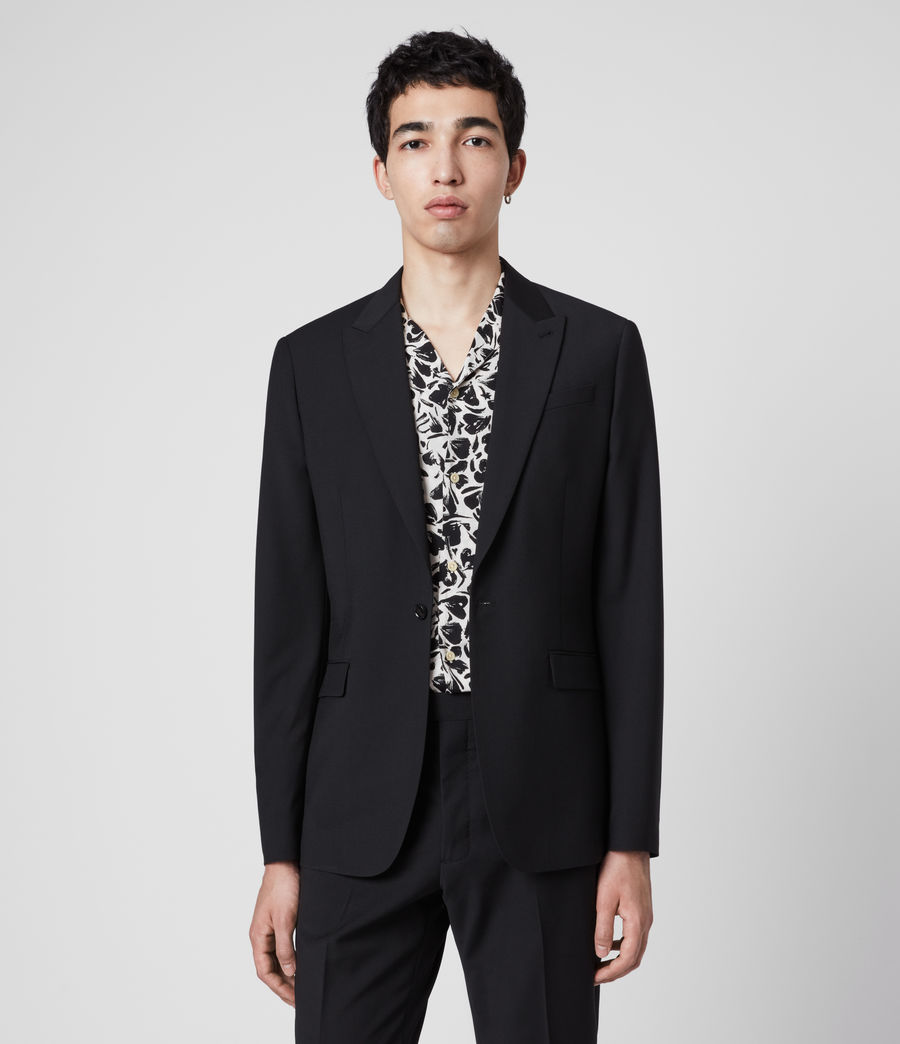 Men's Cleaver Blazer (black) - Image 1