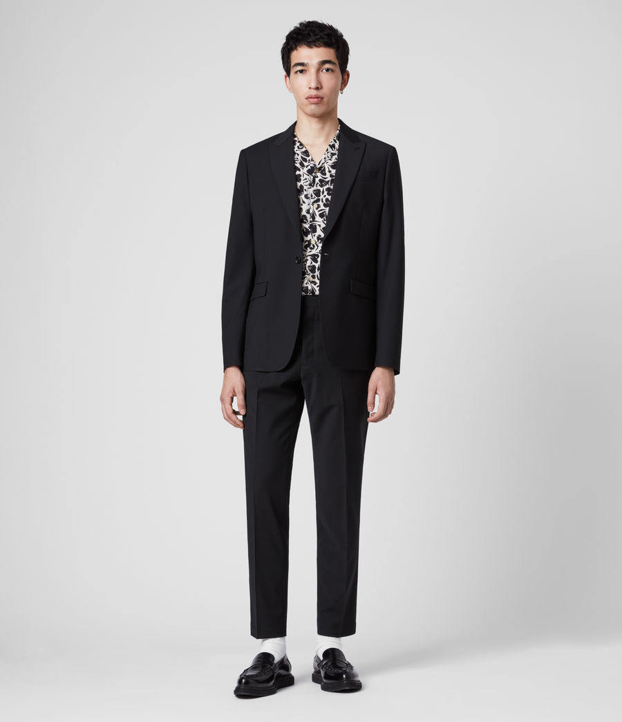 Men's Cleaver Blazer (black) - Image 3