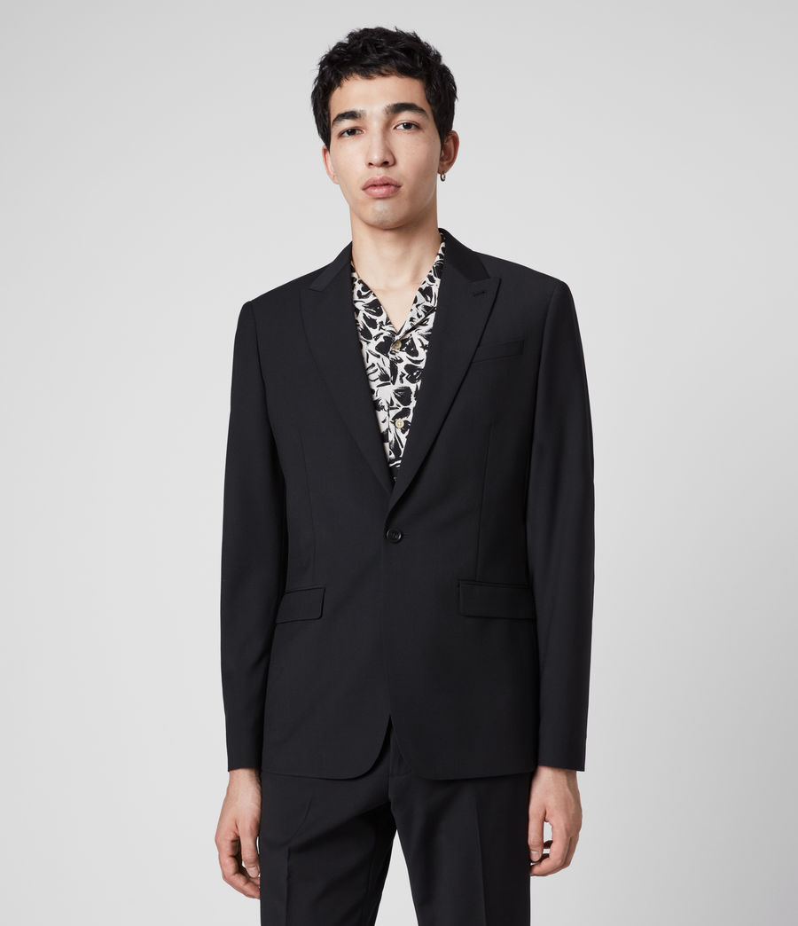 Men's Cleaver Blazer (black) - Image 4
