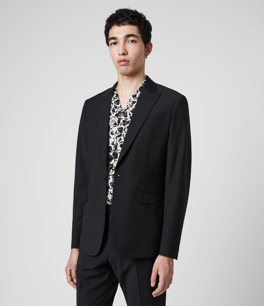 Men's Cleaver Blazer (black) - Image 6