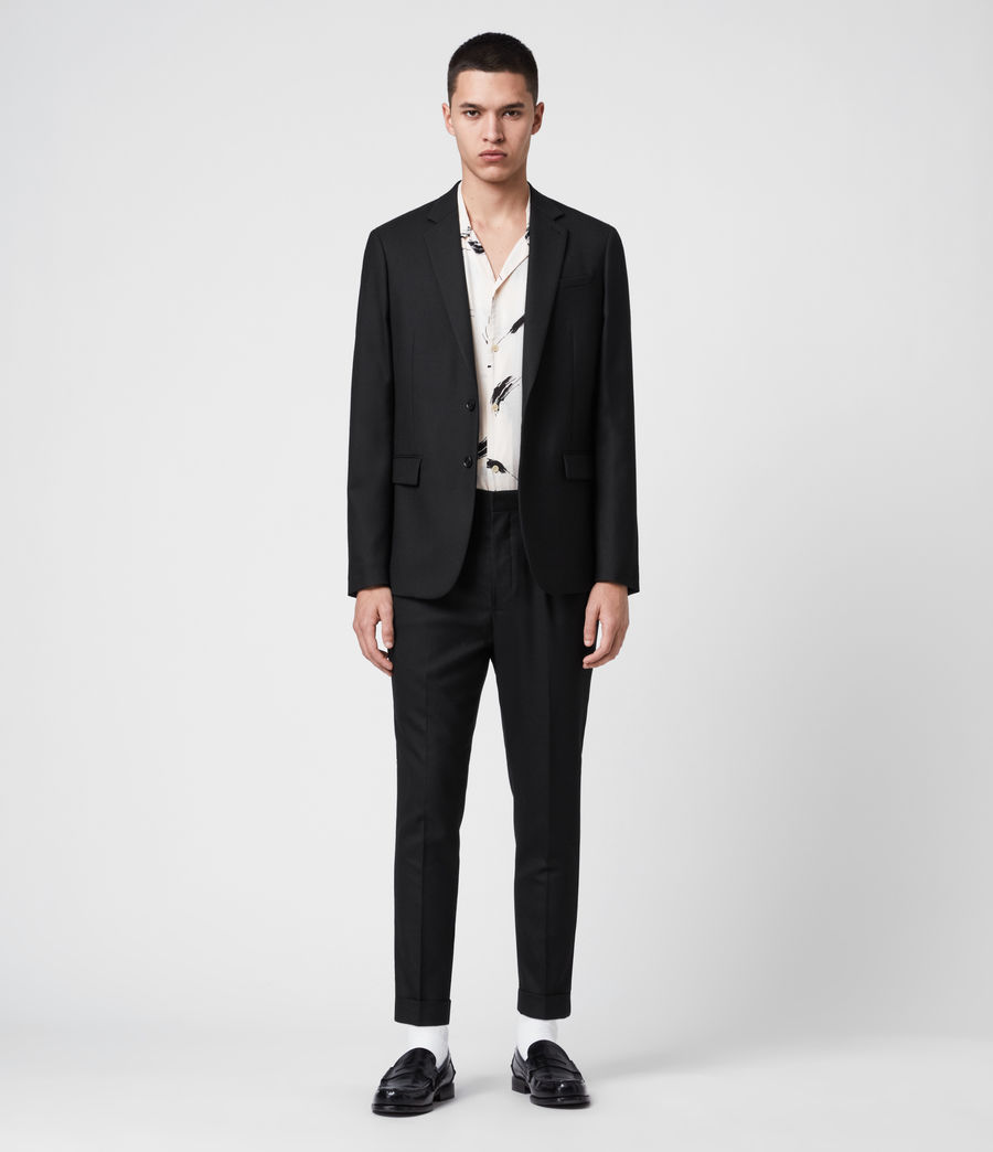 Men's Lanark Blazer (black) - Image 1