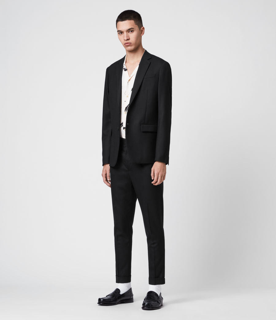 Men's Lanark Blazer (black) - Image 3
