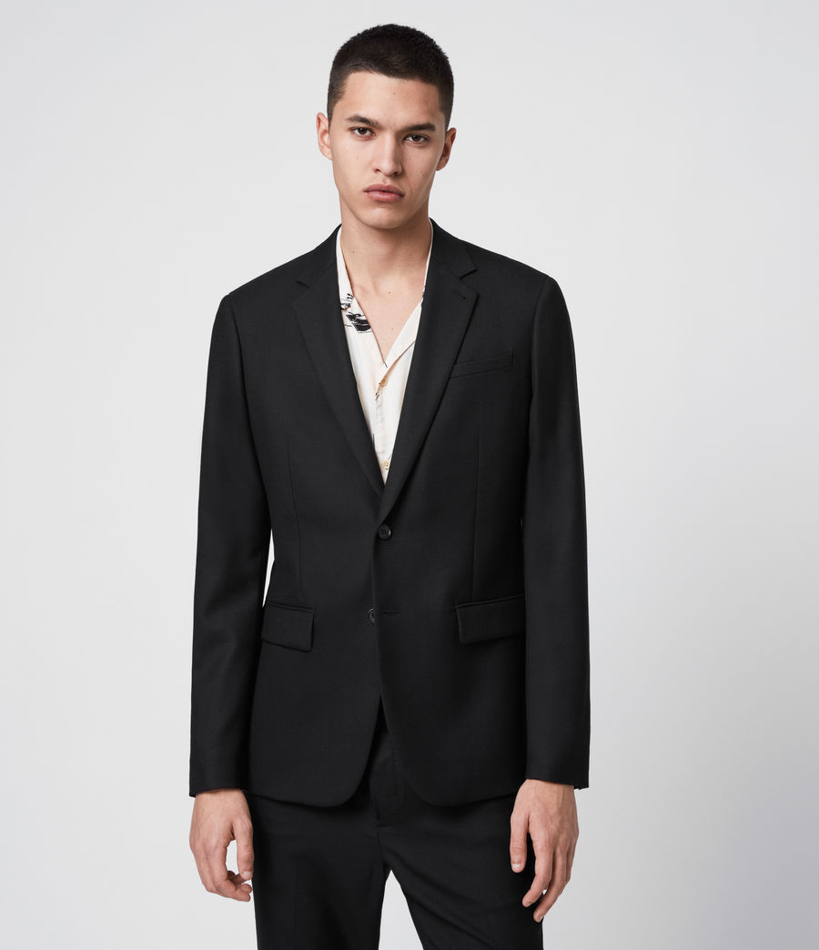 Men's Lanark Blazer (black) - Image 4
