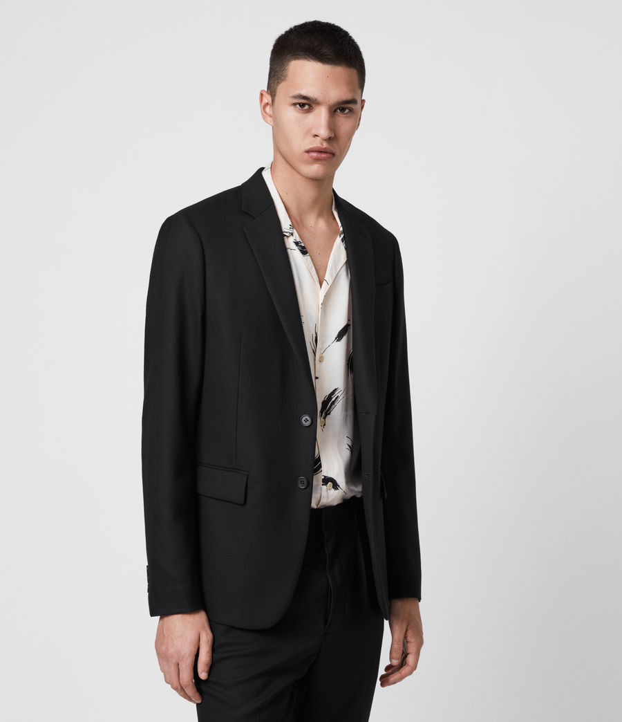 Men's Lanark Blazer (black) - Image 5