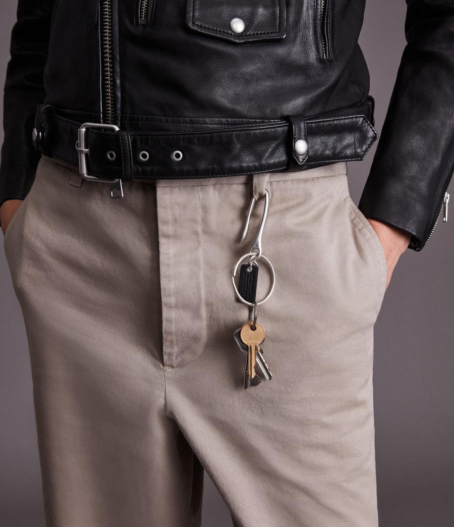 Men's Raicho Key Chain (warm_silver) - Image 1