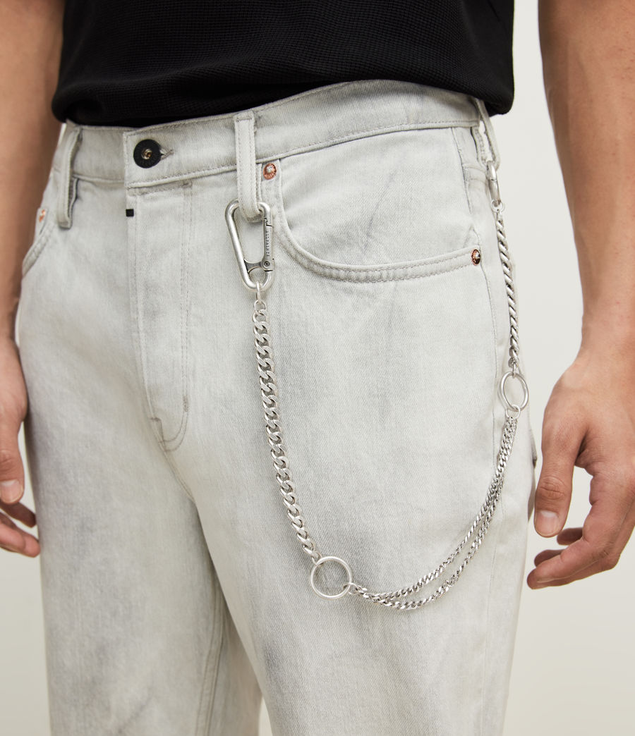 Men's Trueno Belt Chain (warm_silver) - Image 1