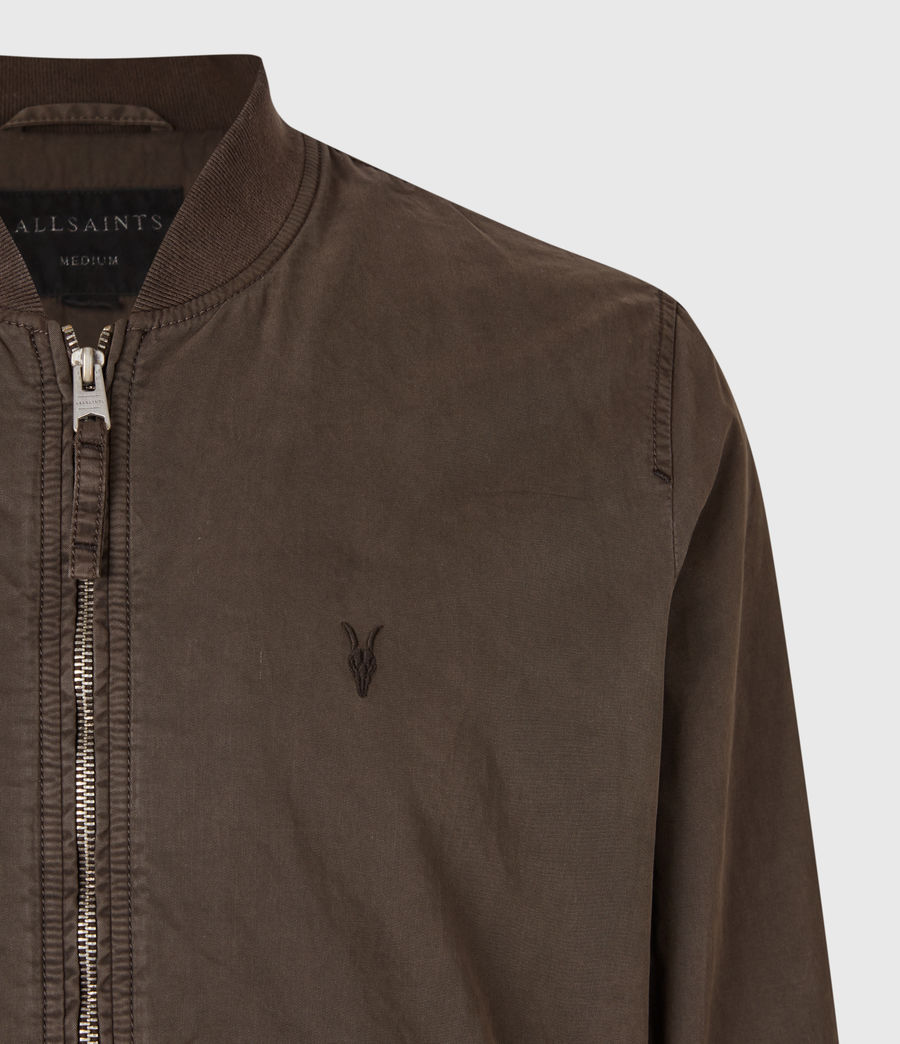 Men's Lows Bomber Jacket (dark_khaki) - Image 4