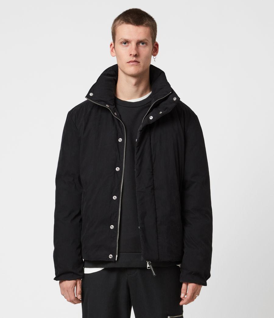 Mens Canis Puffer Jacket (black) - Image 1