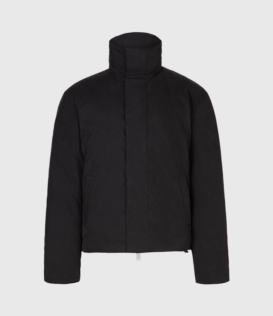 Mens Canis Puffer Jacket (black) - Image 2
