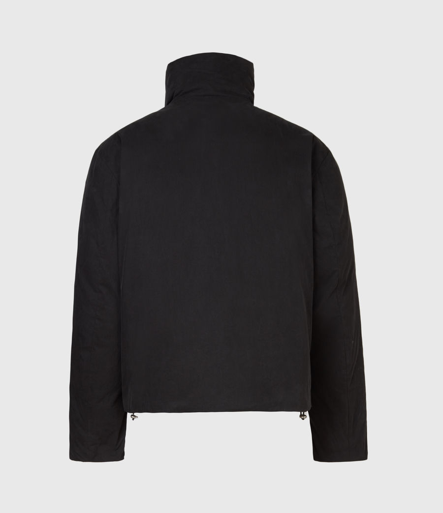 Mens Canis Puffer Jacket (black) - Image 3