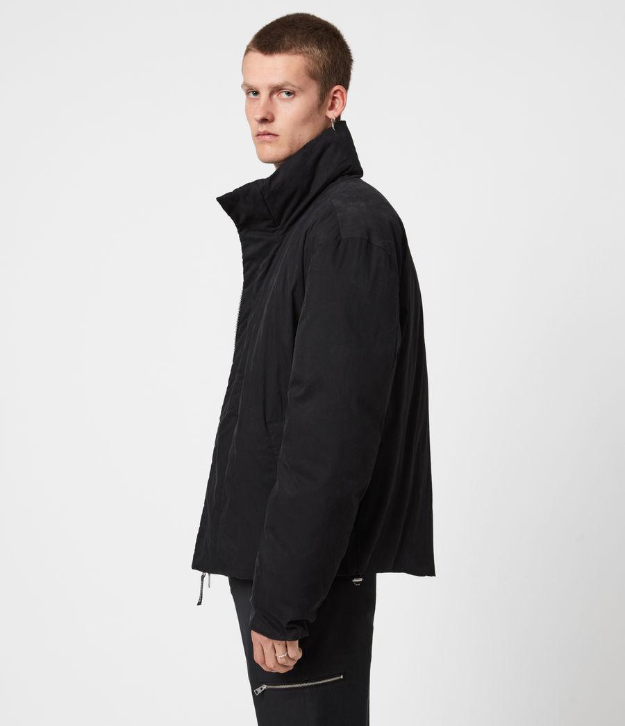 Mens Canis Puffer Jacket (black) - Image 4