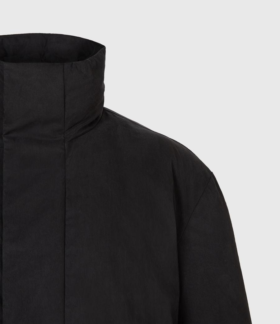 Mens Canis Puffer Jacket (black) - Image 5