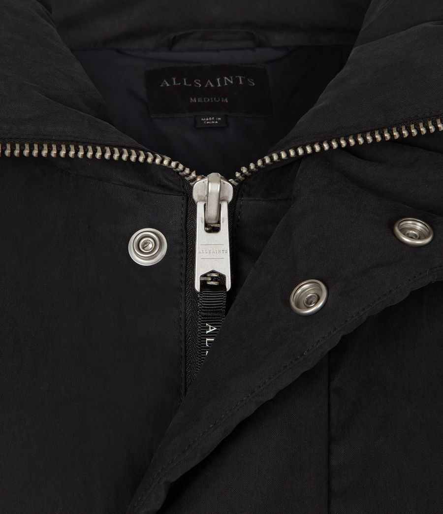 Mens Canis Puffer Jacket (black) - Image 6