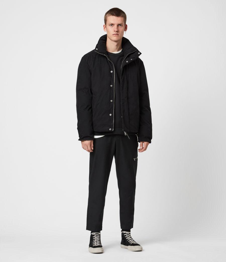 Mens Canis Puffer Jacket (black) - Image 7