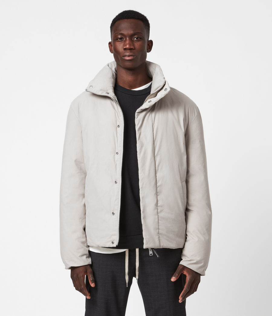 Men's Canis Puffer Jacket (clay_grey) - Image 1