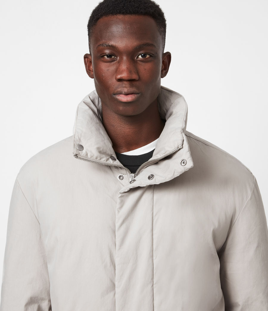 Mens Canis Puffer Jacket (clay_grey) - Image 4