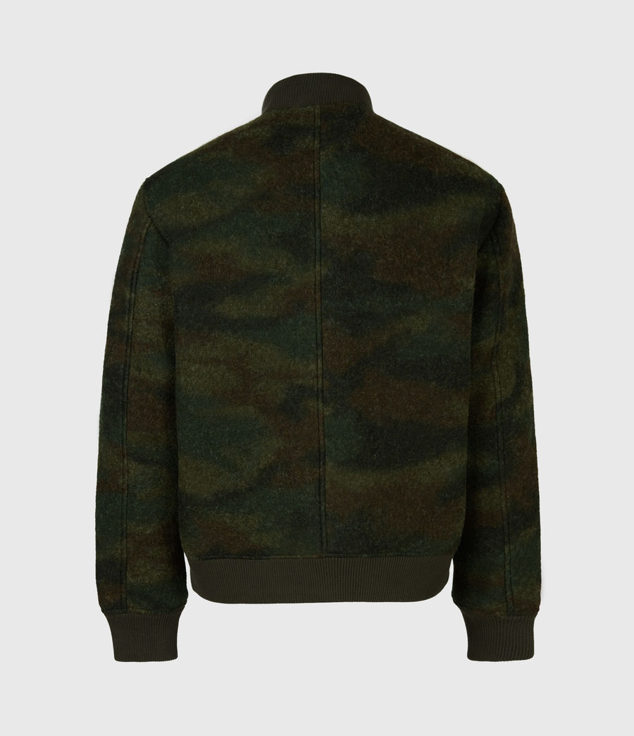 Men's Bastion Wool Blend Bomber Jacket (khaki_camo) - Image 3