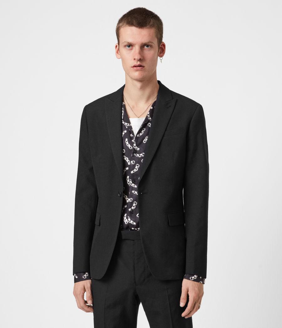 Men's Kennel Wool Blazer (midnight) - Image 1