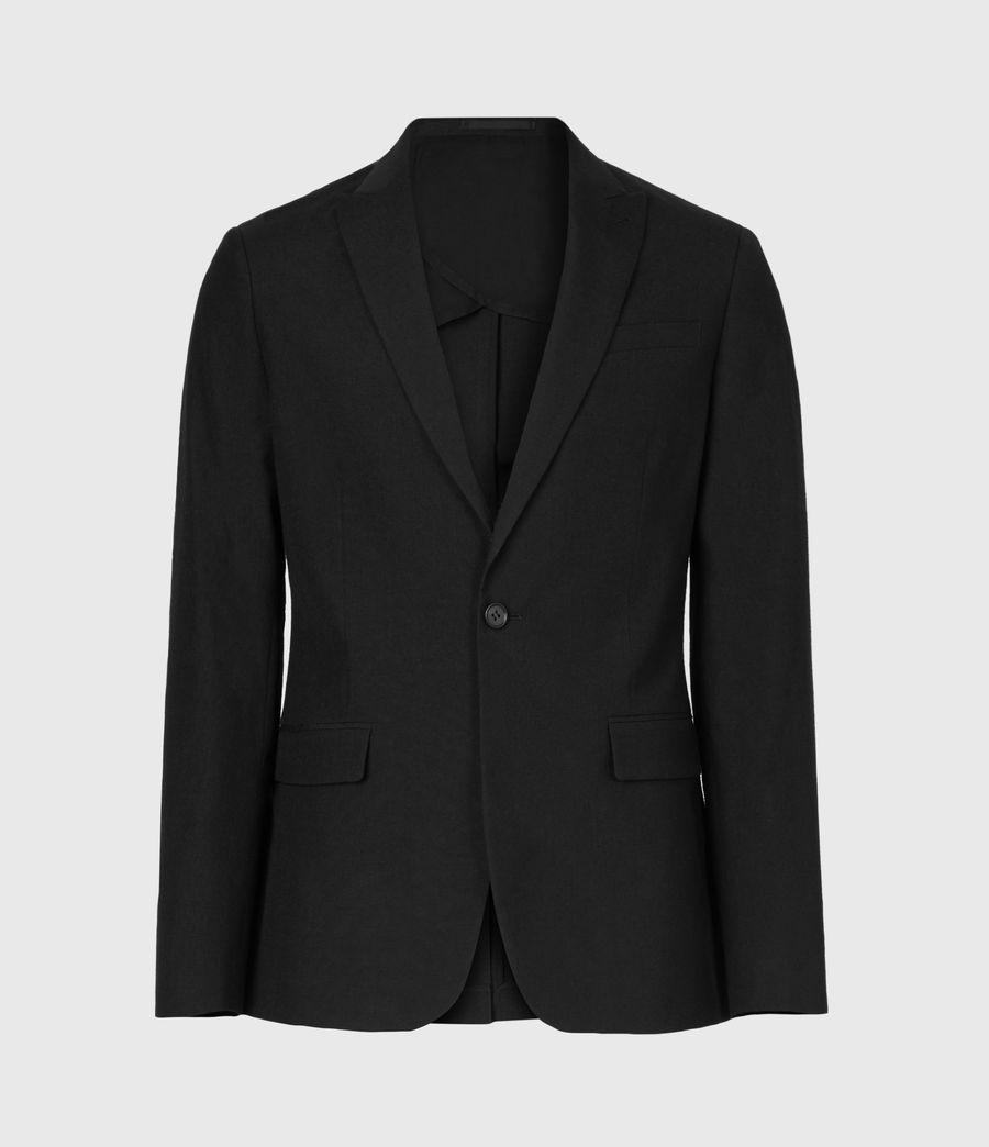 Men's Kennel Wool Blazer (midnight) - Image 2