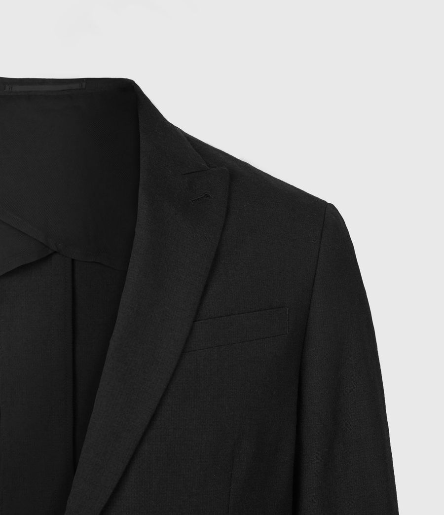 Men's Kennel Wool Blazer (midnight) - Image 5